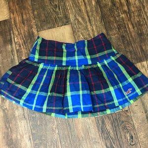 NWT Plaid Hollister Tennis Skirt